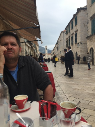 Glenn in Dubrovnik