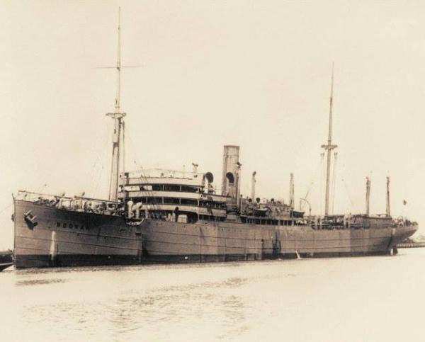 The troopship_SS Boonah