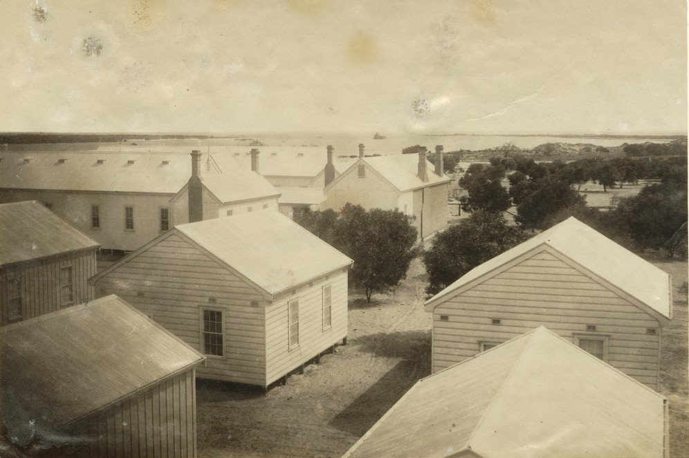 Torrens Isnald Quarantine Station_SLSA B-43143